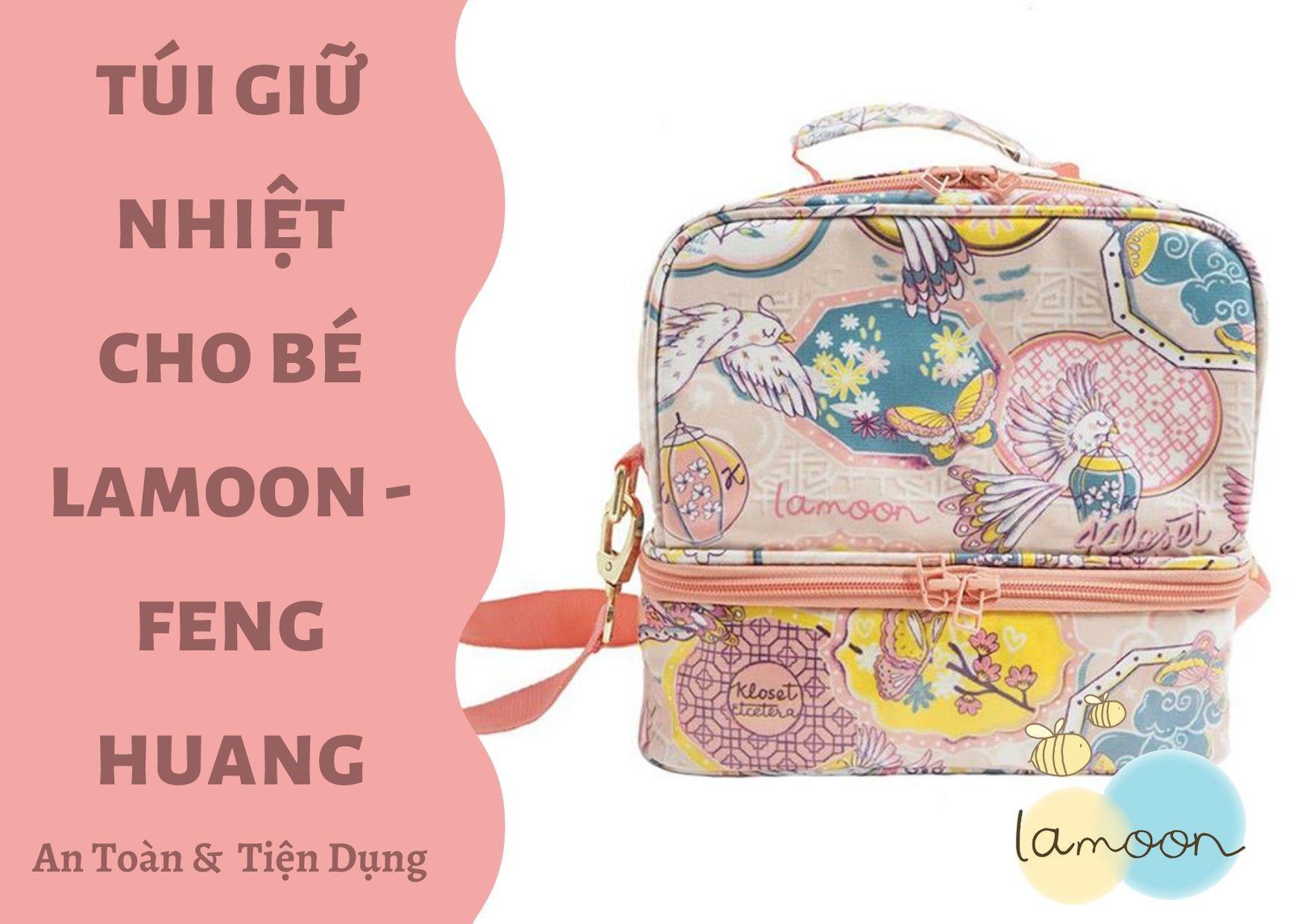 Túi giữ nhiệt đa năng cho bé Lamoon x Kloset - Feng Huang